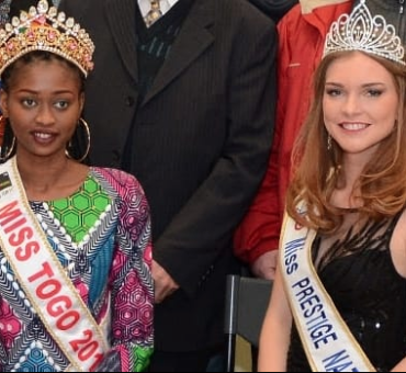 Miss prestige National  avec Miss Togo