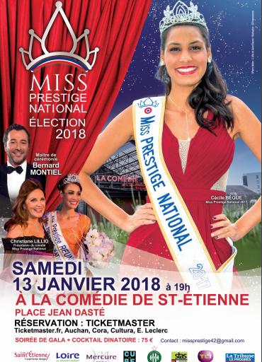 Finale Miss Prestige National 2018 – Réservez vos places