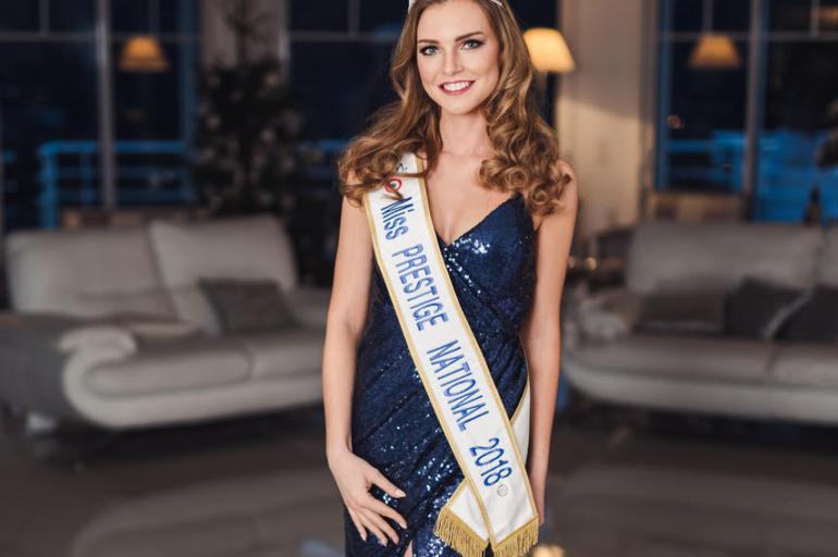 Charlotte Depaepe est élue Miss Prestige Nationale 2018