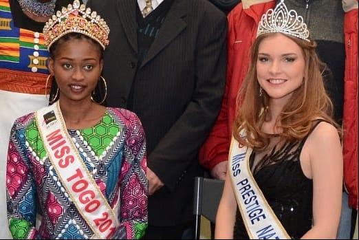Miss prestige National  avec Miss Togo